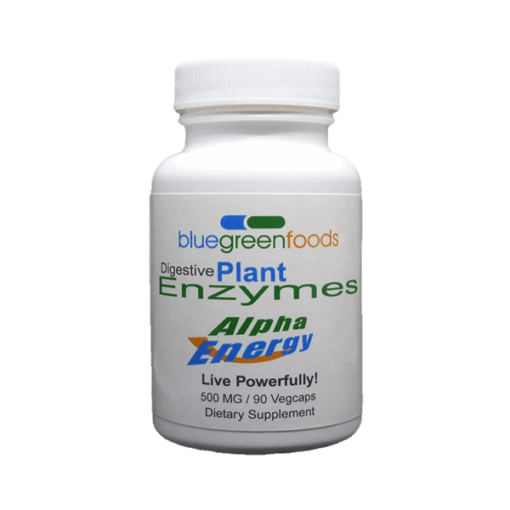 digestive plant enzymes alpha energy dietary food supplement bluegreenfoods