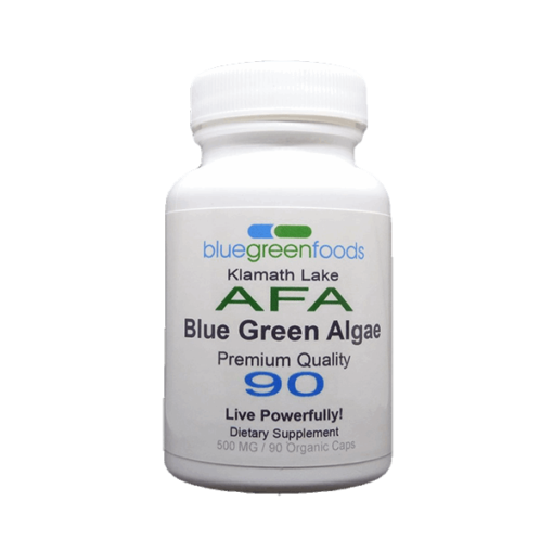 klamath lake afa blue green algae dietary organic food supplement