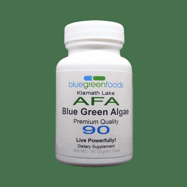 klamath lake afa blue green algae dietary organic food supplement