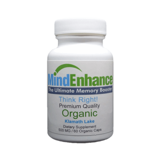 mind enhance the ultimate memory booster think right organic klamath lake dietary supplement bluegreenfoods
