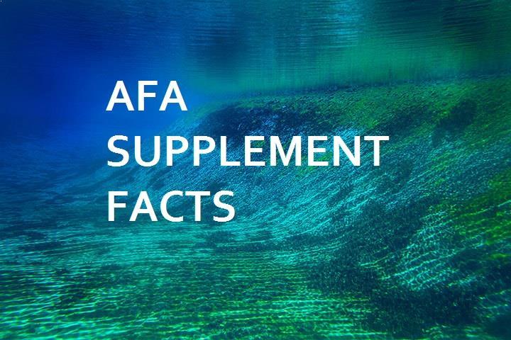 AFA Supplement Facts